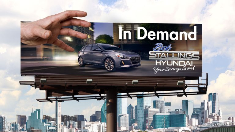 Billboard: Bob Stallings Hyundai In Demand