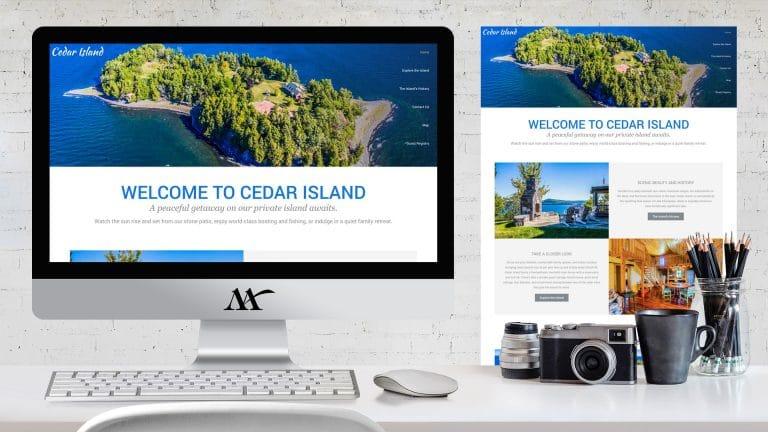 Website: Cedar Island