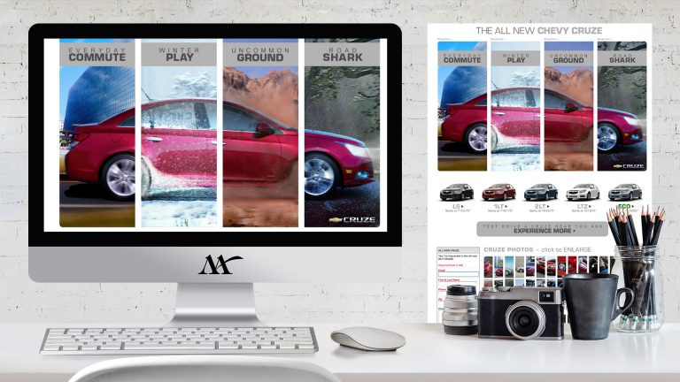 Website: Chevy Cruze Microsite