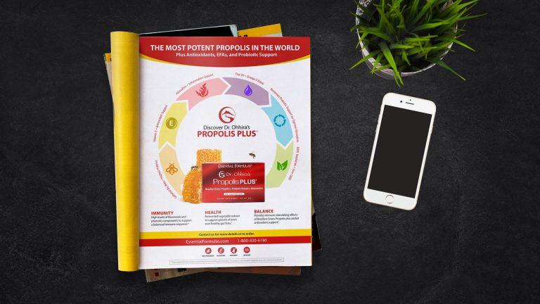 Magazine Ad: Essential Formulas Most Potent