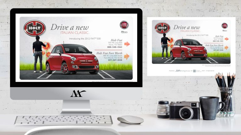 Website: Holt Fiat Landing Page