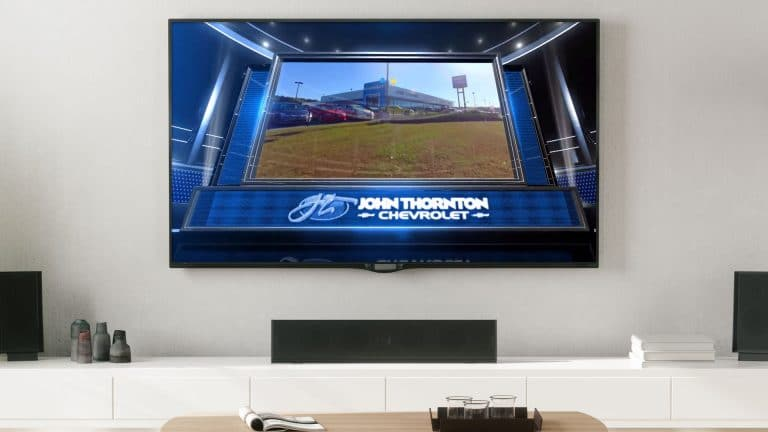 Television: Be the King of the Tailgaters with John Thornton Chevrolet!