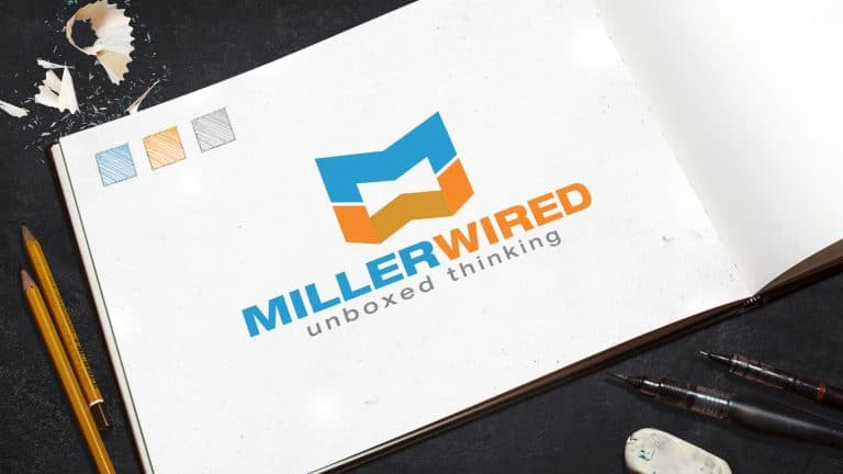 Logo Design: Miller Wired