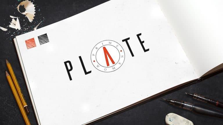 Logo Design: Prime Women Plate