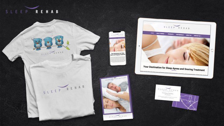 Branding: Sleep Rehab