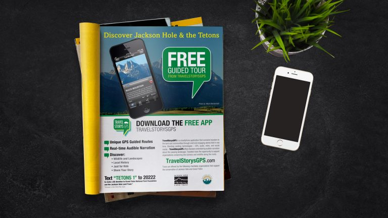 Magazine Ad: Travel Story GPS – Discover Jackson Hole